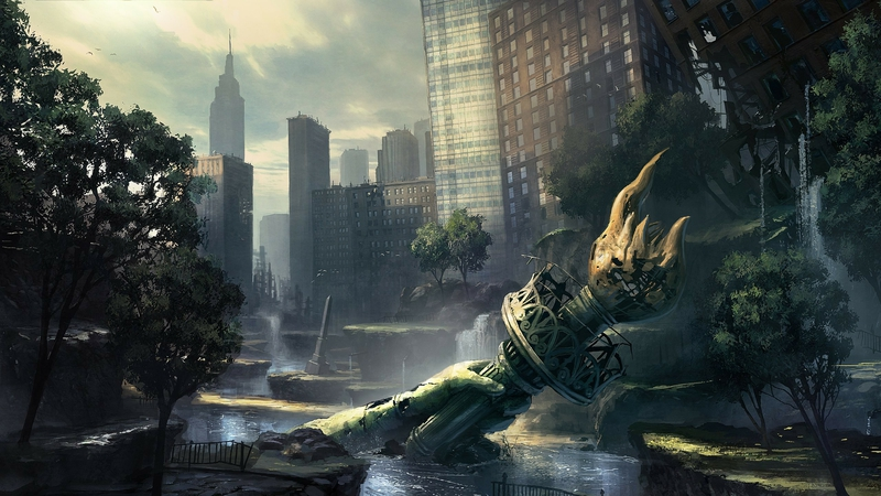video games ruins new york city artwork crysis 2 2560x1440 wallpaper_www.wallpaperhi.com_48
