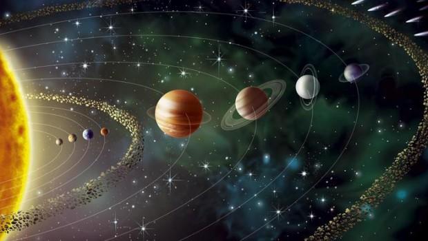 Güneş Sisteminin Hareketli Görseli Bilimkurgu Kulübü