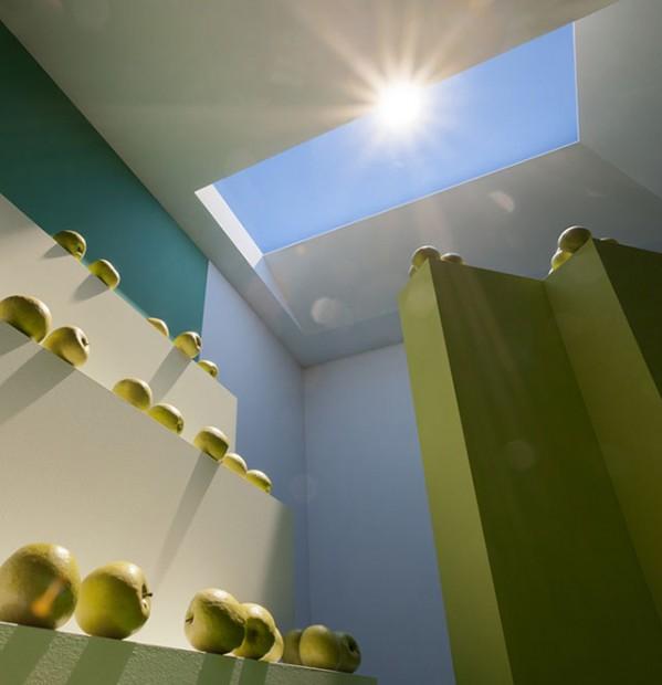 CoeLux adlı bir firma tarafından üretilen yapay aydınlatma sisteminin de tamamen Rayleigh Saçılımı ilkesine göre çalışmaktadır.