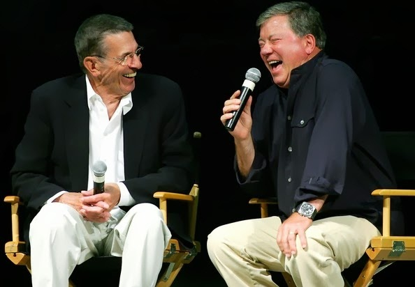 Leonard Nimoy ve William Shatner 2006'da bir Las Vegas toplantısında
