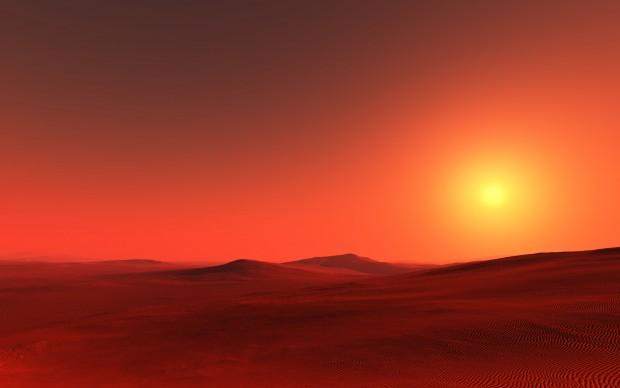 Arrakiste güneş batarken