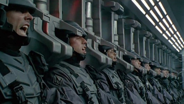 starship-troopers askeri bilimkurgu