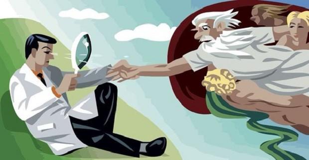 din ve bilim