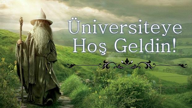 Üniversiteye hoş geldin