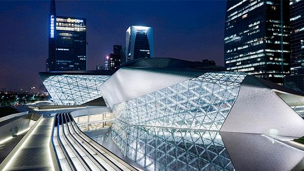 Guangzhou Opera House zaha hadid