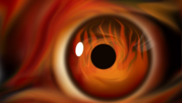 turuncu gözlü olmak