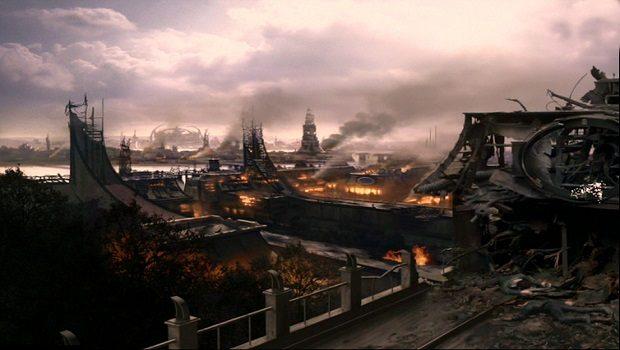 Cardassia Prime'ın Bombardıman Sonraki Hali