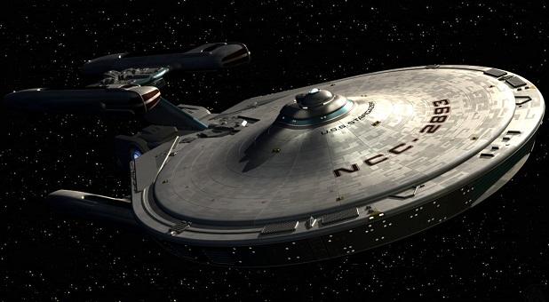 Federasyon Yıldız Gemisi USS Stargazer.