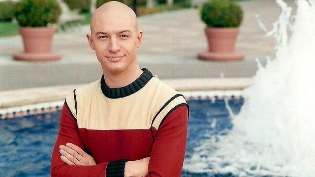 Jean Luc Picard akademi yıllarında.