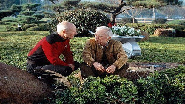 Kaptan Picard ve bahçıvan Boothby.