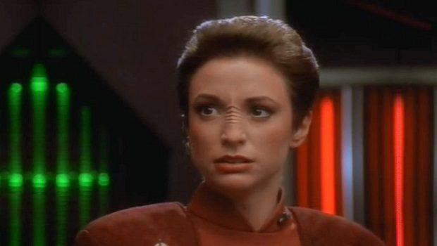 Binbaşı Kira Nerys. Bir Bajoran Kadını