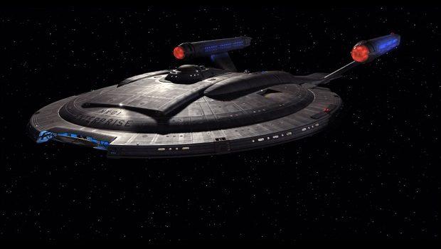 Dizinin geçtiği gemi. Enterprise.
