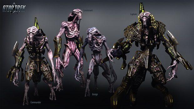 Irk 8472'nin bazı üyeleri.