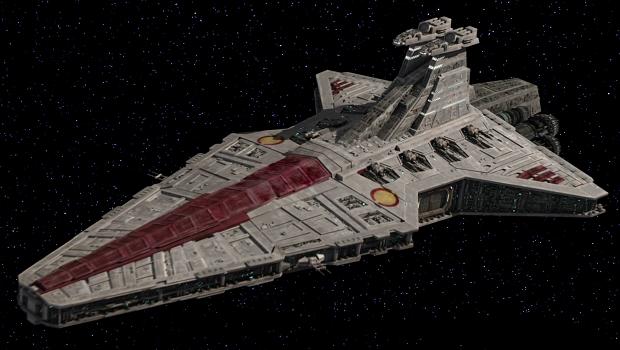 Venator-Sınıfı Yıldız Destroyeri.