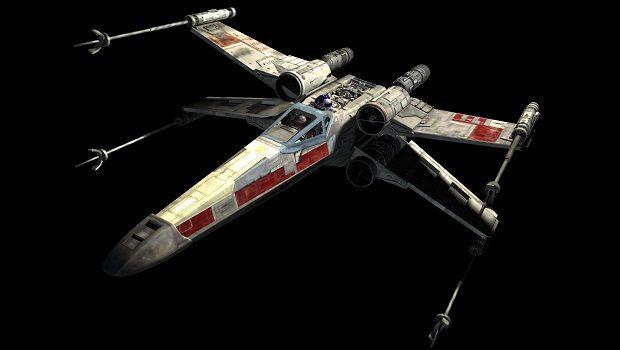 X-Wing Yıldız Savaşçısı.