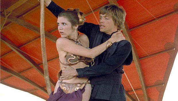 Leia ve Luke Skywalker