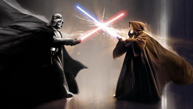 Darth Vader ve Obi-Wan Kenobi