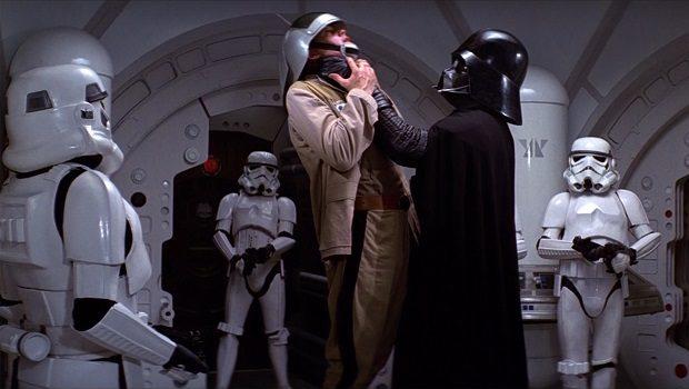 Karanlık Lord Vader ve bir asi
