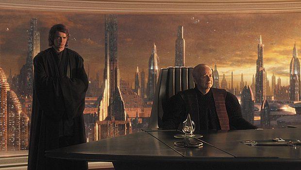 Anakin Skywalker ve Şansölye Palpatine