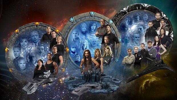 Stargate dizileri SG-1- Atlantis ve Universe