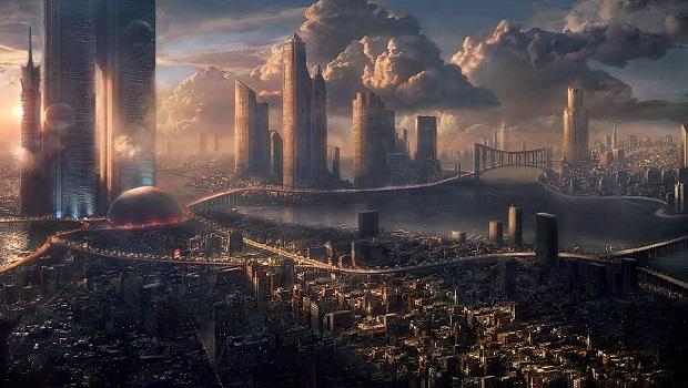 bilimkurgu şehirleri