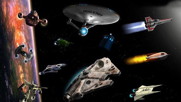 Bilimkurgu Dizilerinden Unutulmaz Uzay Gemileri Bilimkurgu Kulubu