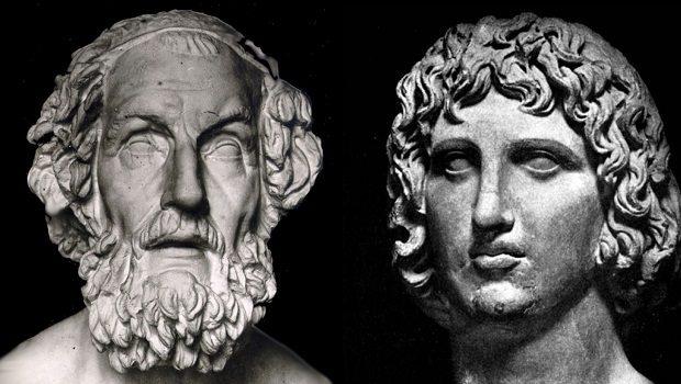 Homeros-Vergilius