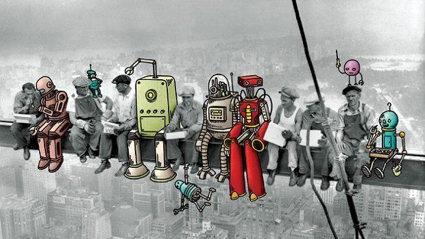 robot ve issizlik