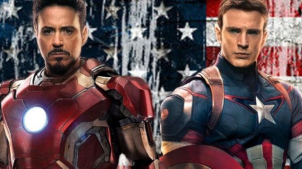 Iron Man Kaptan Amerika