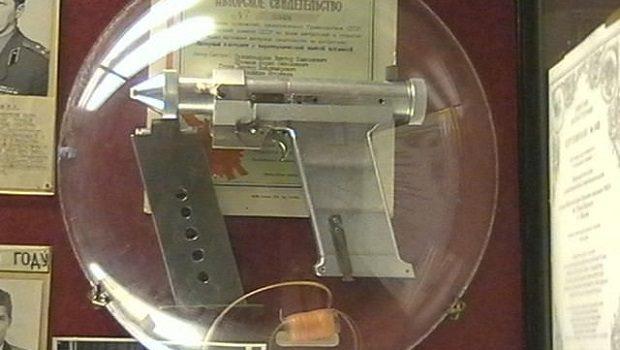 sovyet lazer tabancasi