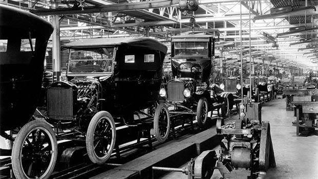 Ford Model T Üretim Hattı