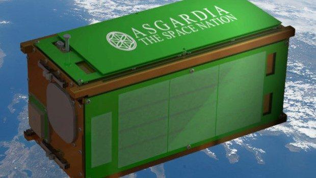 asgardia-1 uydusu