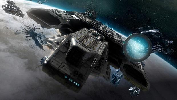 stargate spaceships