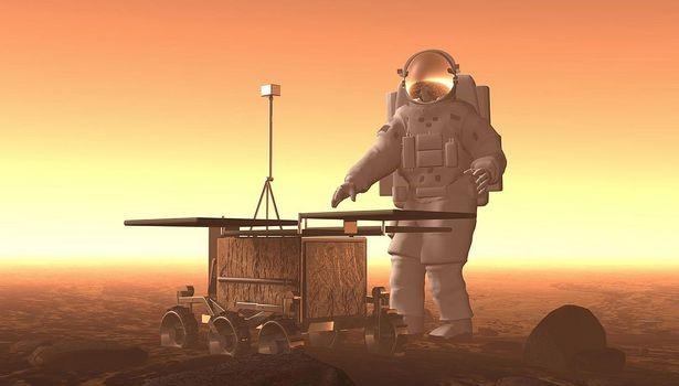Mars insanlı yolculuk
