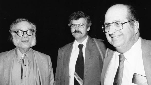 Isaac Asimov, David G. Hartwell ve Gene Wolfe (1980ler)